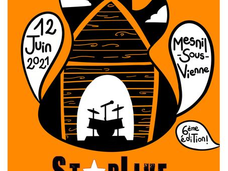 Bientôt le festival Starlive ! Rendez-vous le 12 Juin 2021 à Mesnil-sous-Vienne
