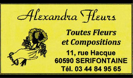 Alexandra fleurs - Sérifontaine