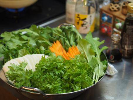 【とれたて野菜の香り・食感を味わう しゃぶしゃぶ野菜セット(ご希望の方はパクチー付き)】