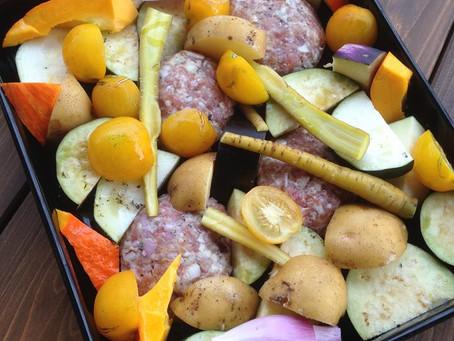 夏野菜をジューシーに!オーブン料理