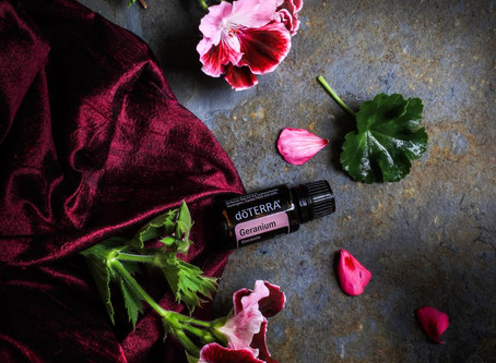 Natters on Aromas - Geranium