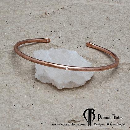 THRIVE COPPER BRACELET DIAMOND