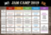 JaM Camp 2019 Schedule SR updated 04.25.