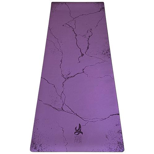 Burgundy Kintsugi Yoga Mat