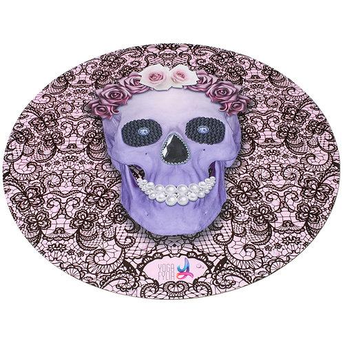 Skull Round Yoga Mat