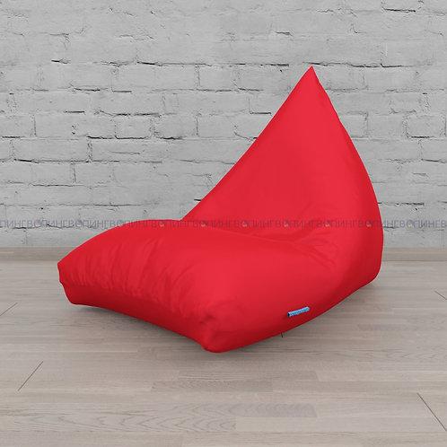 """Кресло-мешок Пирамида оксфорд """"Красный"""""""