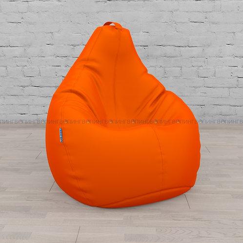 Кресло-мешок Груша оксфорд оранжевый