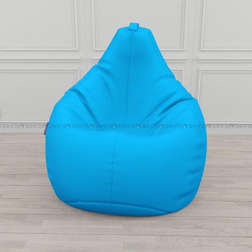 Кресло-мешок Груша оксфорд Голубой