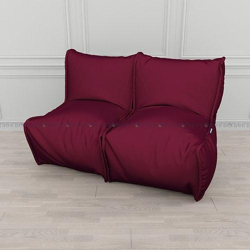 """Модульный диван-трансформер """"DIVAN"""" Оксфорд """"Бордо"""""""