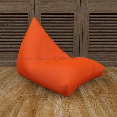 """Кресло-мешок Пирамида оксфорд """"Оранжевый"""""""