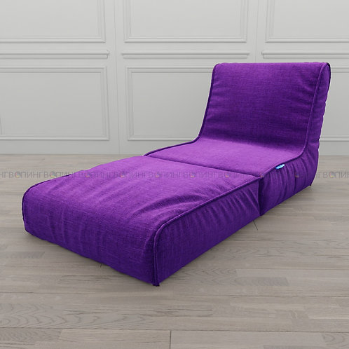 """Авторское кресло """"Le-Jack"""" льняная рогожка """"Фиолетовый"""""""
