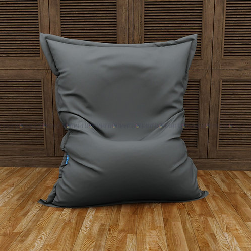 """Кресло-мешок Мат экокожа """"Серая"""""""