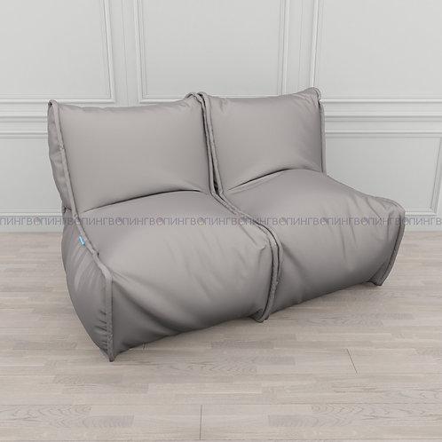 """Модульный диван-трансформер """"DIVAN"""" Оксфорд """"Серый"""""""
