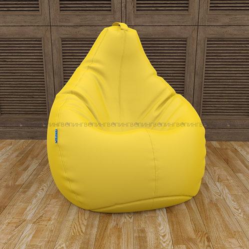 Кресло-мешок Груша оксфорд Жёлтый