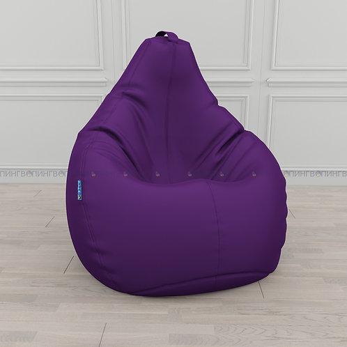 Кресло-мешок Груша оксфорд Фиолетовый