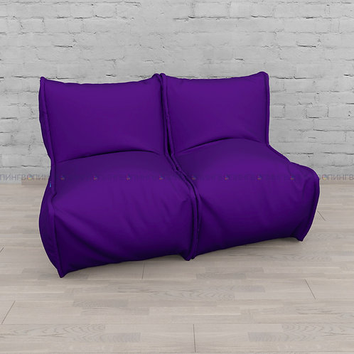 """Модульный диван-трансформер """"DIVAN"""" Оксфорд """"Фиолетовый""""»"""
