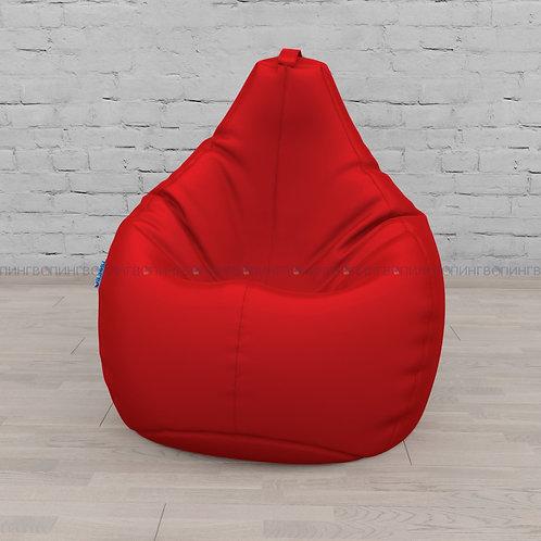 Кресло-мешок Груша оксфорд Красный