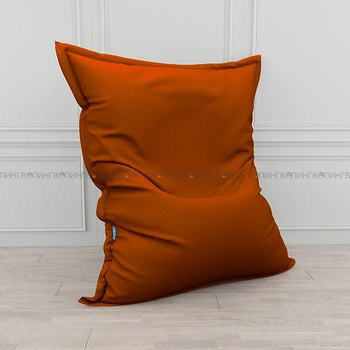 """Кресло-мешок Мат экокожа """"Оранжевая"""""""