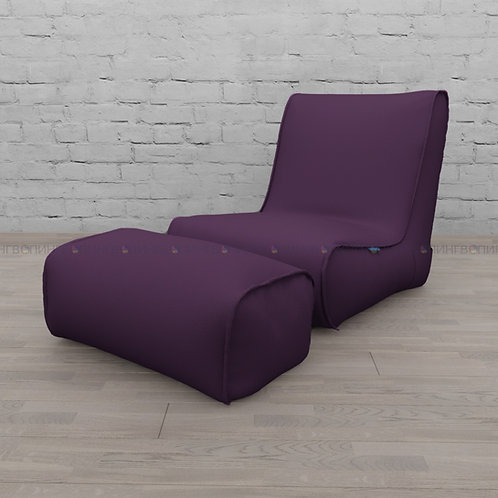"""Авторское кресло """"Tapchan"""" жаккард """"Фиолетовый"""""""