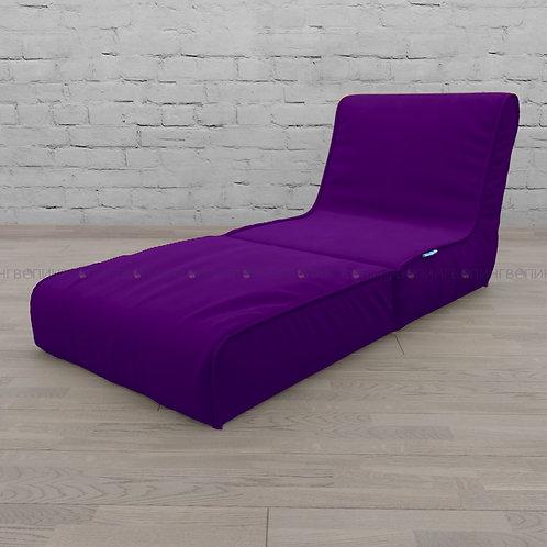 """Авторское кресло """"Le-Jack"""" микровелюр """"Фиолетовый"""""""