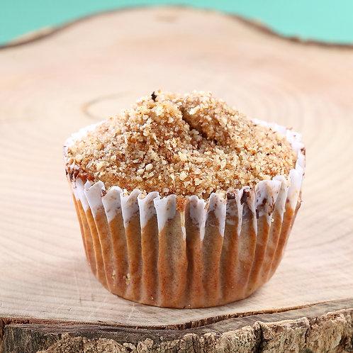 Muffin deBanana com Passas