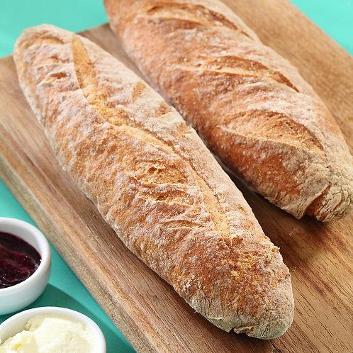 Pão Baguete Vegana