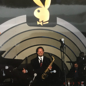 Playing at the Playboy Jazz Festival