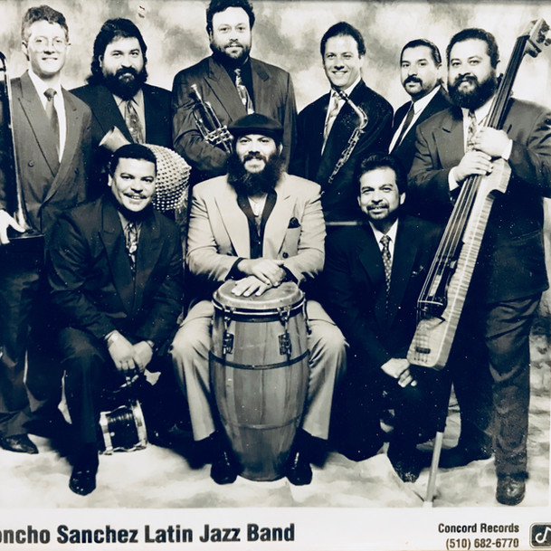 Poncho Sanchez Band 1990