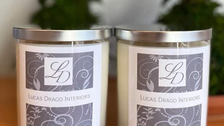 Custom Lucas Drago Interiors Candle