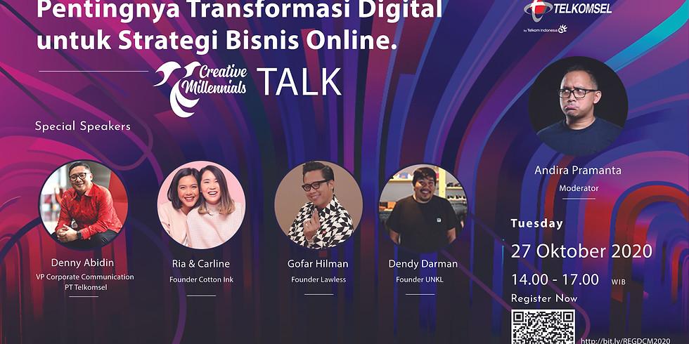 Pentingnya Transformasi Digital untuk Strategi Bisnis Online.