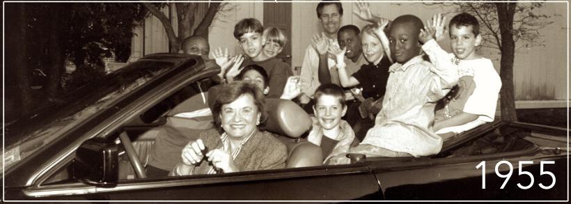 CCI Founder Barbara Nolan and Kids