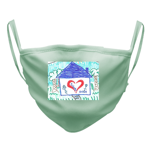 CCI Mask in Light Green