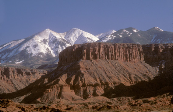 Canyon outside Moab, UT