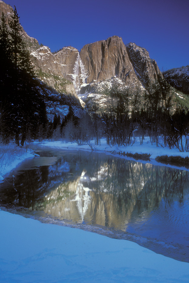 Merced River with reflection