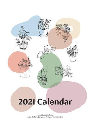 2021 Calendar June - Dec