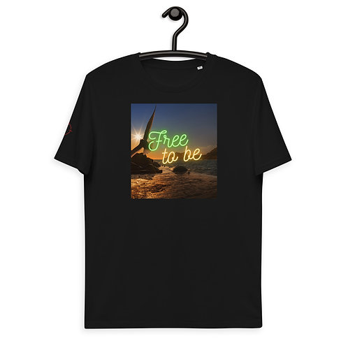 """Graphic """"Free to be"""" T-Shirt"""