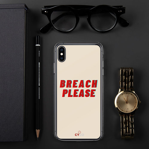 Breach Please iPhone Case