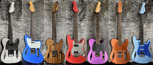 7 Diamondcaster Guitars