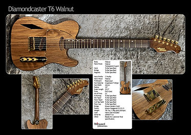 Diamondcaster T6 Walnut