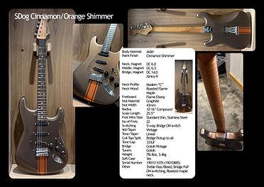 Cinnamon Custom Strat