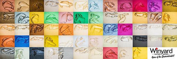 Diamondcaster Shimmer colours