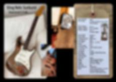 custom guitar SDog Shamrock