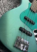 Jazz Bass Mint Green Shimmer