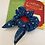 Thumbnail: Night sky scrunchie with bow