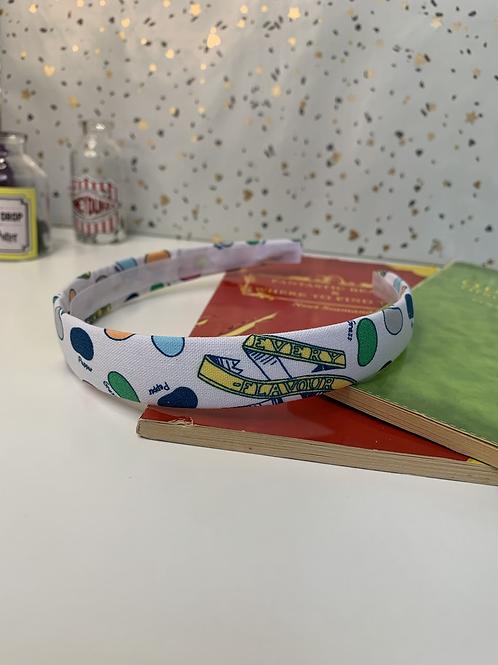 Flavoured beans headband