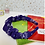 Thumbnail: Purple 'H' scrunched headband