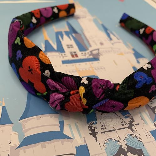 'Magic of the night' knotted headband