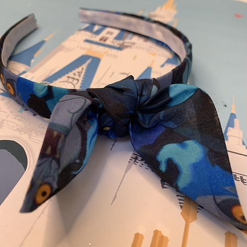 Hades headband with bow