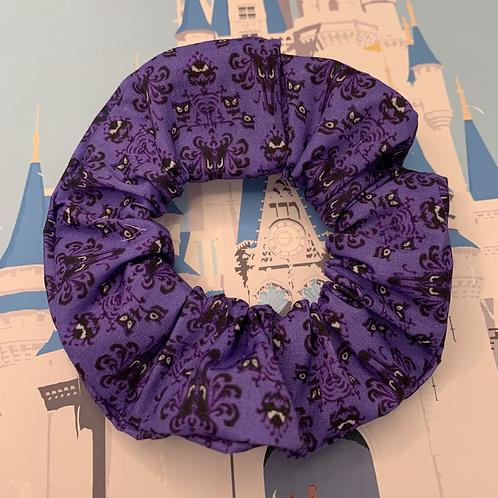 Haunted wallpaper scrunchie