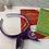 Thumbnail: Purple 'H' headband with bow